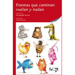 Libro Poemas Que Caminan Vuelan y Nadan 1 U