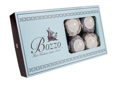 Alfajor Surtido Chocolate Blanco/Negro Caja Dorada 16 U