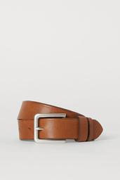 Accesorios Topher Leather Belt Café 1 U