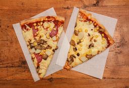 2 Trozo de Pizza de 25cm a Elección