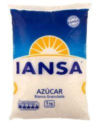 Azúcar Blanca Granulada Iansa 1kg