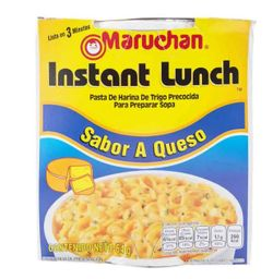 Instant Lunch Queso Maruchan 64g