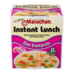 Instant Lunch Camarón Maruchan 64g