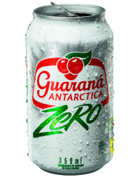 Guaraná Zero Lata 350 ml