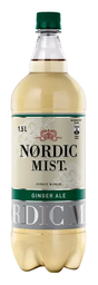 Nordic Mist Ginger Ale Light 1,5 L