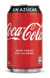 Coca Cola Sin Azúcar Lata 350 ml