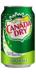 Canada Dry Ginger Ale Lata 350 ml
