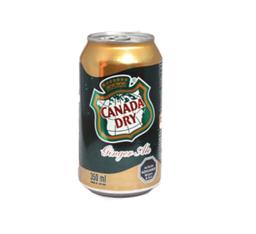 Canada Dry Ginger Ale Zero Lata 350 ml