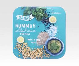 Hummus Albahaca Fresca - Babar