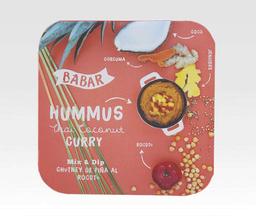 Hummus Thai Coconut Curry - Babar