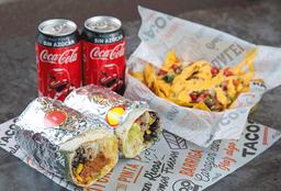 Combo para Compartir 4 Burritos