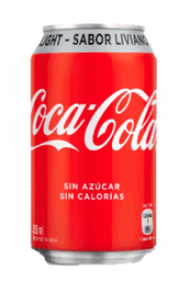Coca Cola Light Lata 350 ml
