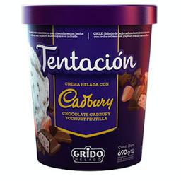 Tentación Cadbury Yogurt Frutilla