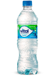 Agua Mineral Con Gas 600 ml