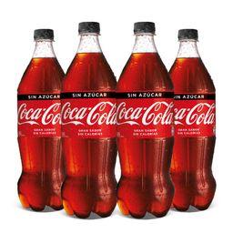 Super Promo: 4x Coca cola 1.5L variedades