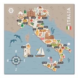Mapa Viajero de Italia Travelshot 1 U