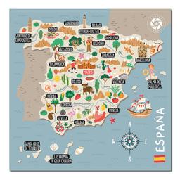 Mapa Viajero de España Travelshot 1 U