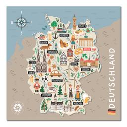 Mapa Viajero de Alemania Travelshot 1 U