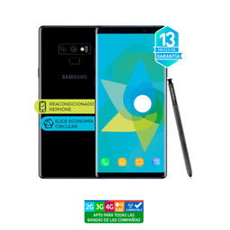 Samsung Note 9 128Gb Negro Reacondicionado - Garantía 13 Meses