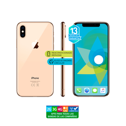 Apple Iphone Xs Max 64Gb Dorado Reacondicionado-Garantía 13Meses
