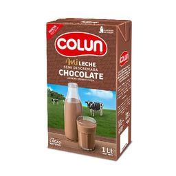 Leche Chocolate Semidescremada Colun 1 Litro