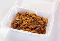 Yakisoba con carne