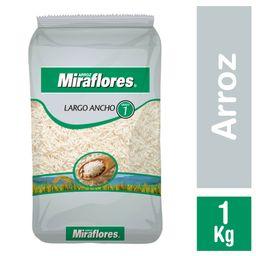 Arroz Miraflores G1 Grano Largo Ancho 1 Kg