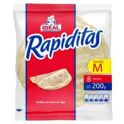 Rapiditas Tortillas 8P 200g