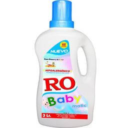 Detergente Para Ropa Ro Baby Matic Hipoalergénico 3 L