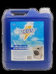 Detergente Para Ropa Zeus Ultra Matic Azul 5 L