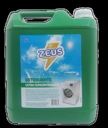 Detergente Para Ropa Zeus Ultra Matic Verde 5 L
