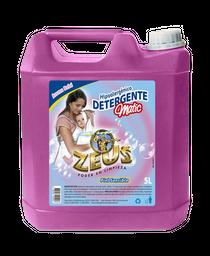Detergente Para Ropa Zeus Hipoalergénico 5 L