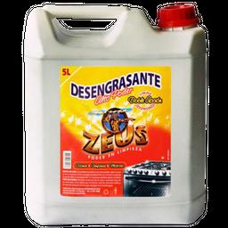 Desengrasante Zeus Alto Poder Doble Acción 5 L