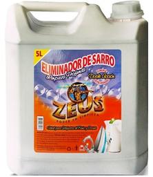 Eliminador de Sarro Zeus Limpieza Profunda Doble Acción 5 L