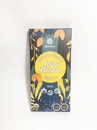 Manare Barra de Cacao 70% Orgánico. Sin Gluten. Sin Lactosa
