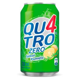 Quatro Sabor Pomelo Zero Lata 350 ml