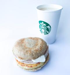 Sándwich Omelette Integral + Latte Grande