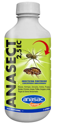 Insecticida Anasect Profesional 2.5 Ec 1 L