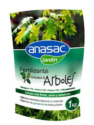 Fertilizante Anasac Jardin arbol Arbusto 1 Kg