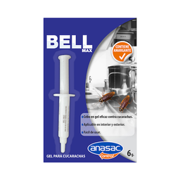 Insecticida Anasac Bell Max Cucarachicida 30 g
