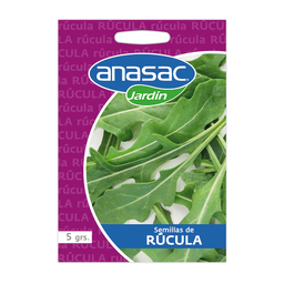 Semillas Anasac de Rucula 5 g