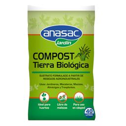 Compost Anasac Tierra Biologica 40 L