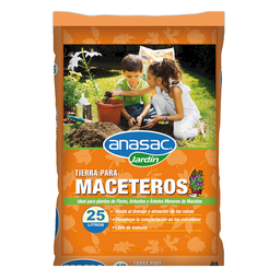 Tierra Anasac Para Maceteros 25 L