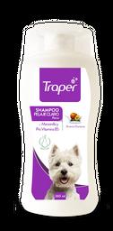 Shampoo Para Perros Traper Pelaje Claro 260 mL