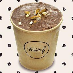 Helado Chocolate Almendras (Cacao Natural)
