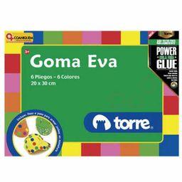 Block Goma Eva 6 Col.20X30 Torre