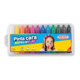 Pintura Cara 12 Colores Artel