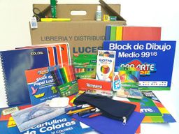Caja Lista Escolar Standard