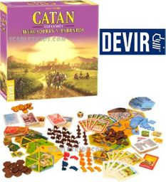 Catan: Mercderes Y Barbaros