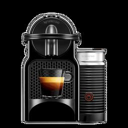 Cafetera Inissia Negra + Espumador de Leche